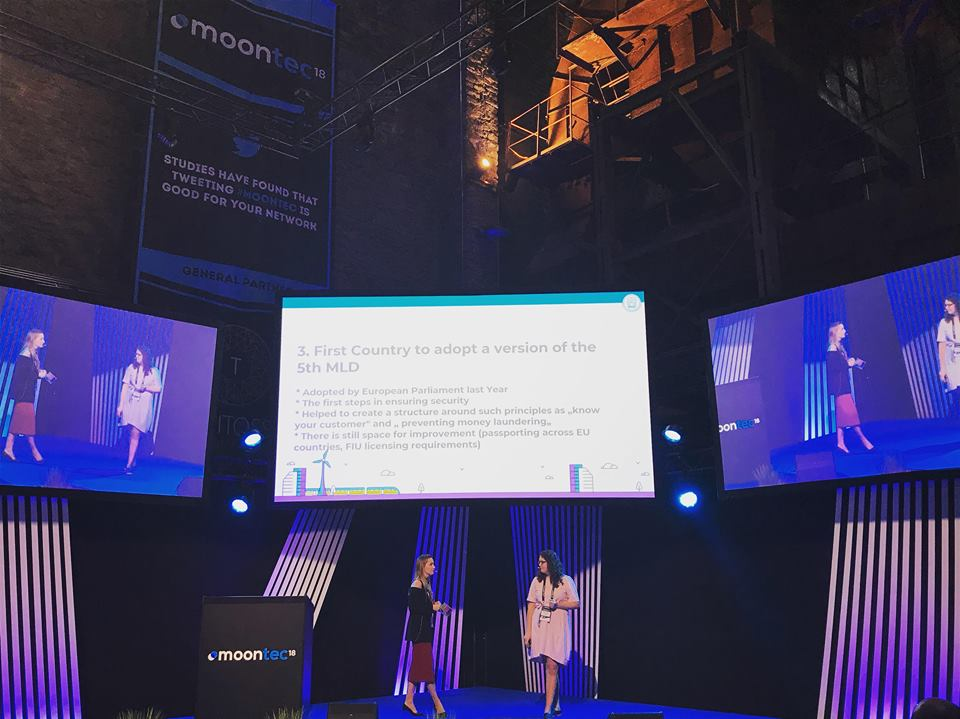 CoinMetro at Moontec'18