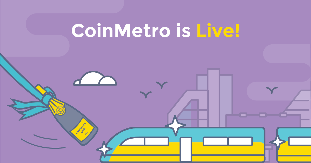 CoinMetro Is Live