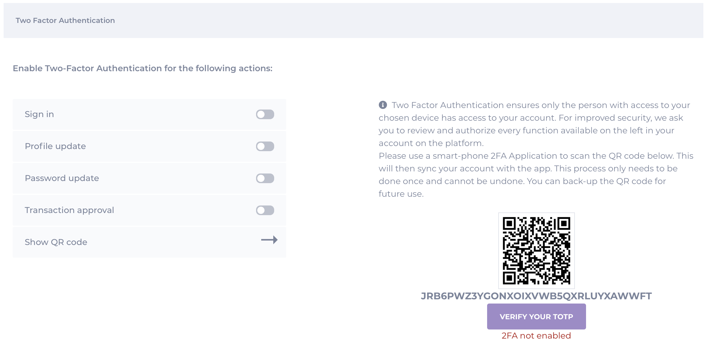 Always use 2-Factor Authentication and How to Set It Up on CoinMetro