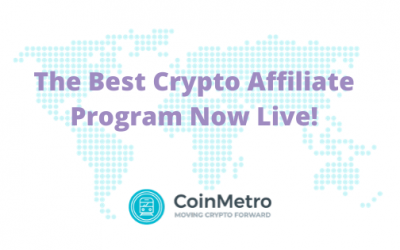 One of the Best Crypto Affiliate Programs is Now Live!