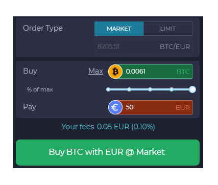 sell bitcoin on exchange