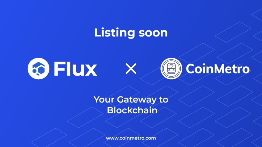 DeFi & Flux token coming soon to CoinMetro